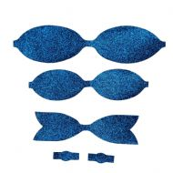 Fine Royal Blue Bow Kit